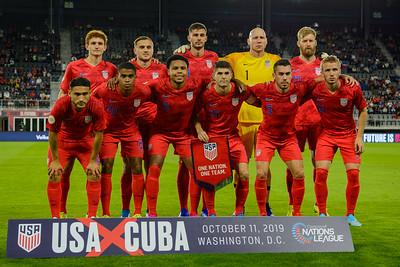 2019-10-11 United States vs Cuba
