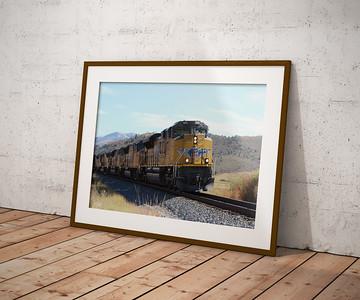 Railroad Frame Mockups