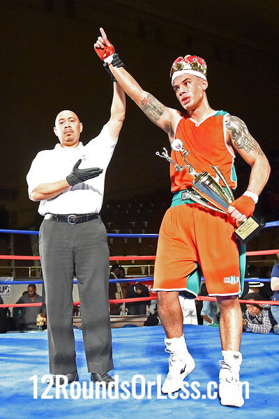 Bout #10:   Jose Rodriguez, Akron Boxing Academy, Akron, OH   vs. Iasiah Steen, Team Tuff, Cleveland, OH,   178 Lbs.