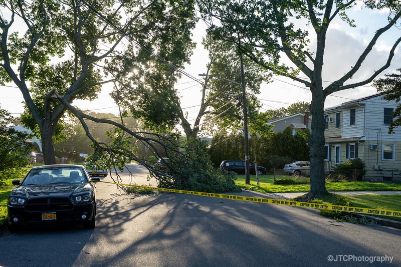Hurricane Isaias Damage 08/04/2020