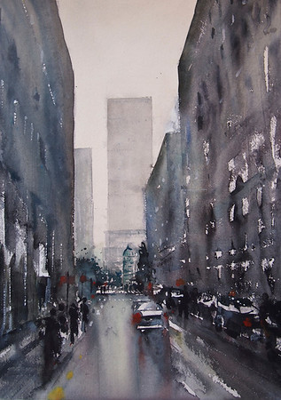 Gabrielle Moulding - After the Rain, Ginza , Tokyo