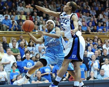 2/04/08 - NCAA Women: Duke Blue Devils vs UNC Tarheels