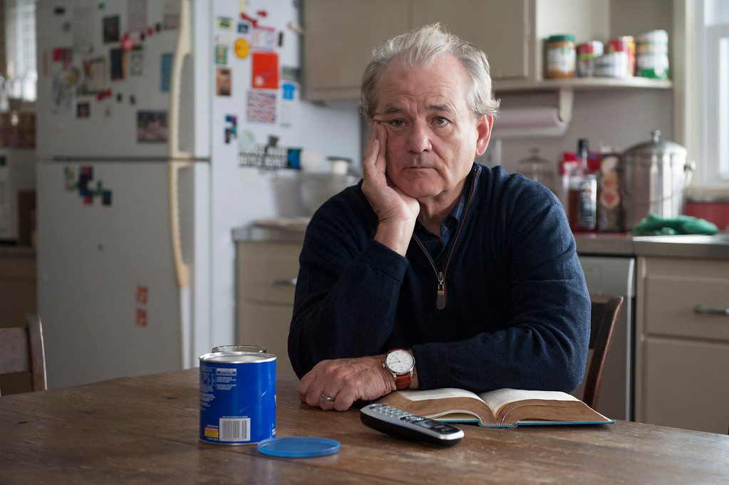""". In this image released by HBO, Bill Murray appears in a scene from \""""Olive Kitteridge.\"""" Murray was nominated for a Golden Globe for best supporting actor in a TV movie or mini-series for his role on Thursday, Dec. 11, 2014. The 72nd annual Golden Globe awards will air on NBC on Sunday, Jan. 11.  (AP Photo/HBO, Jojo Whilden)"""
