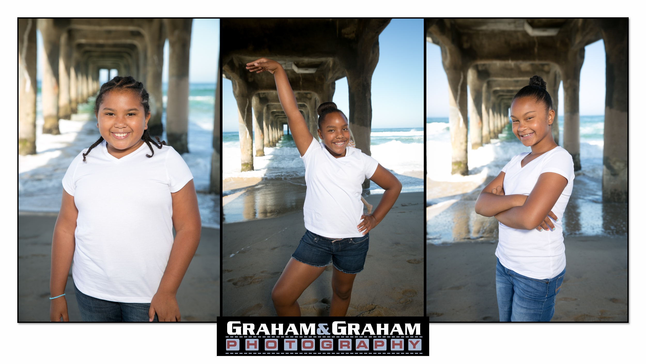 Manhattan Beach Family Photo day