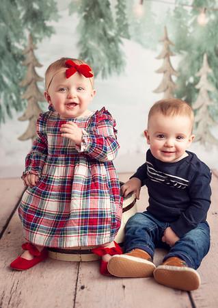 Twins Christmas 2018