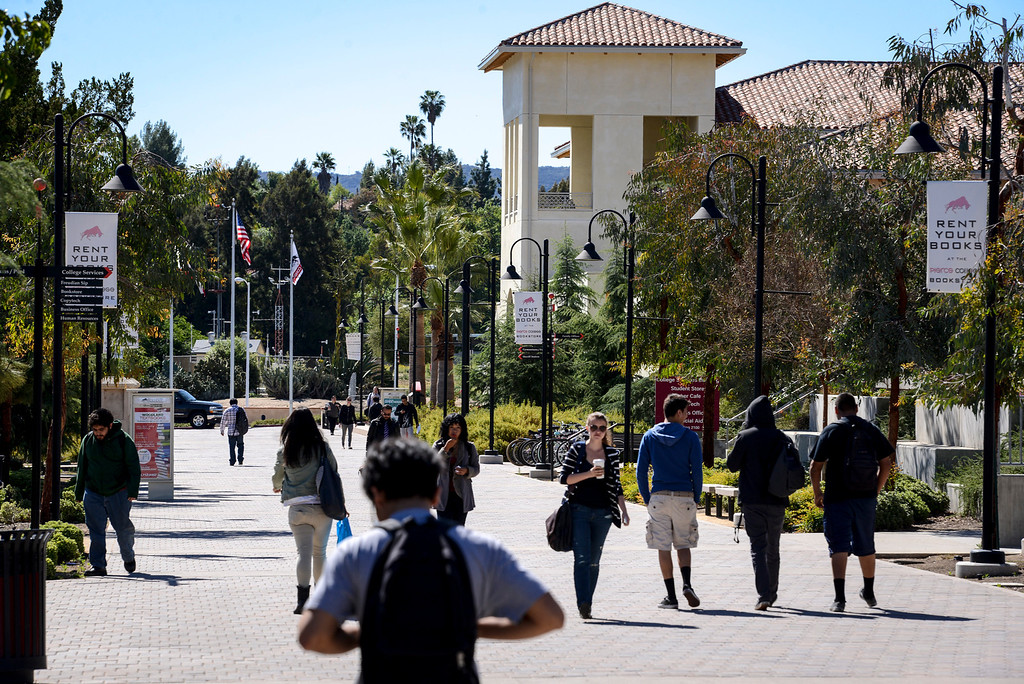 . Pierce College trumped every community college in its Los Angeles district, for the rate in which its students graduate or transfer, according to a performance scorecard of statewide community colleges released Tuesday.  Photo by David Crane/Staff Photographer