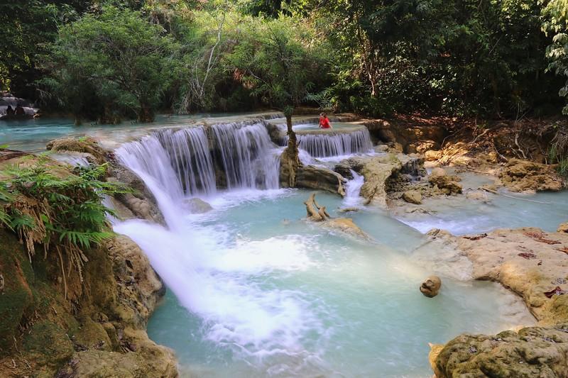 Kuang Si waterfalls - Luang Prabang, Laos