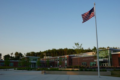 NRHS/MS Entrance Courtyard