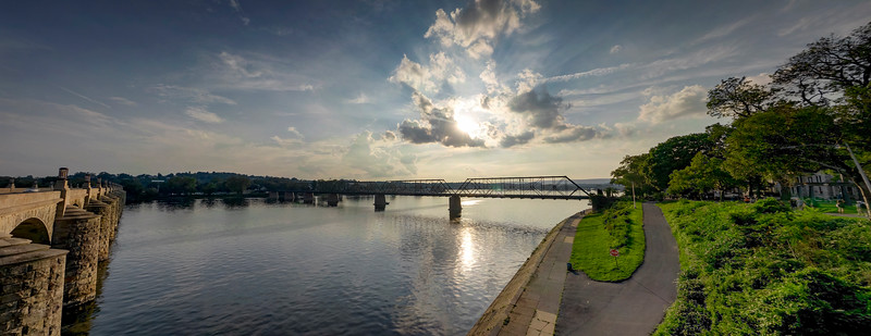 Harrisburg Photowalk - Market Street Bridge Harrisburg Wide View (p).jpg