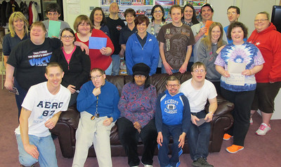 Exercise Activities at Access Services, Tamaqua (3-28-2014)