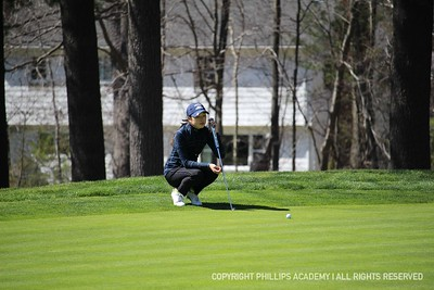 Varsity Golf vs. Exeter & Governor's