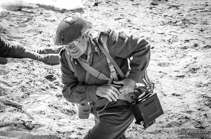 Running Soldier    Photography by Wayne Heim