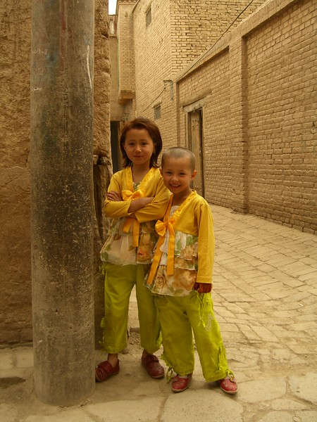 Kids in Kashgar - Kaitlin Lutz