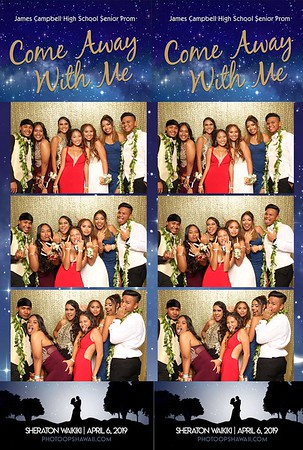 James Campbell High School Senior Prom 2019 (Fusion Photo Booth)