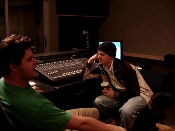 2005-11-30 High Tide in the Recording Studio
