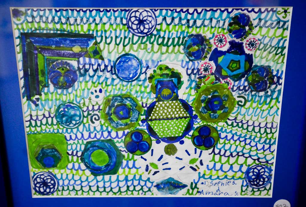 . Artwork by Sophie and Amara Schaffhausen
