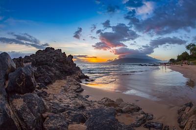Kamaole Beach Sunsets