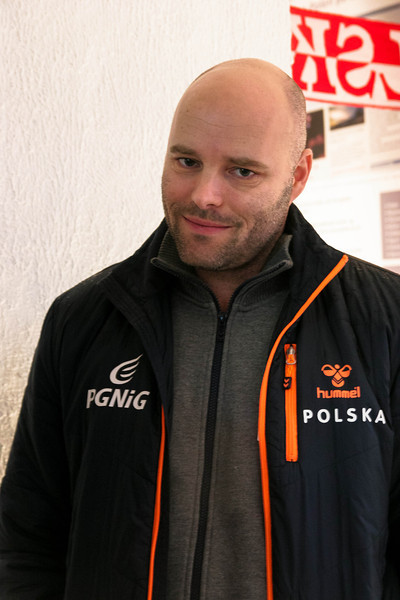 Kim Rasmussen, Danish handball coach of the Polish national team, Århus, Denmark, 2014