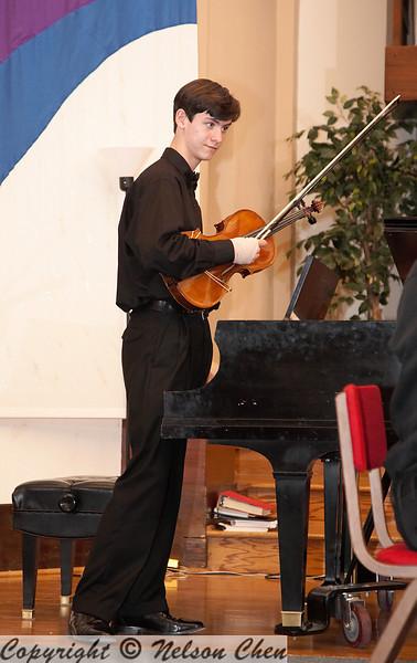 2008-05-04 BYS Season Finale Concert - Salon Concert - Amadeus Novus String Quartet