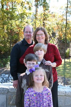 Elliott Fall Family Portrait