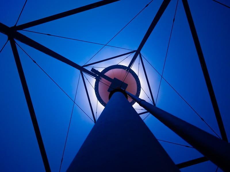 Under the Water Tower, Campbell, California, 2010