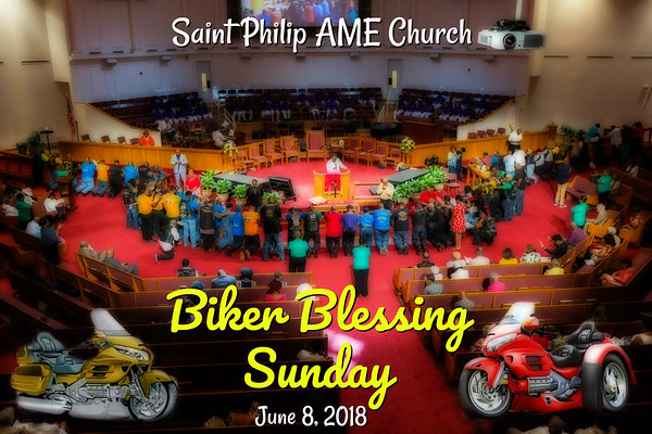 Biker Blessing Sunday