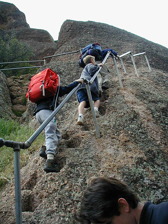Pinnacles High Peaks Trail April 2001