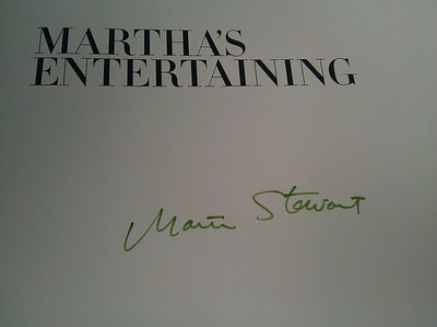 Meeting Martha Stewart!