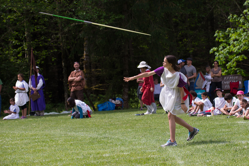 fifth grade olympiad - javelin