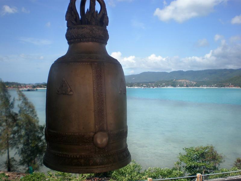 Bells and view at Big Buddha