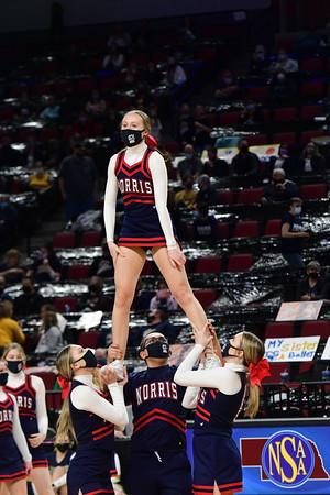 Cheer at State Basketball