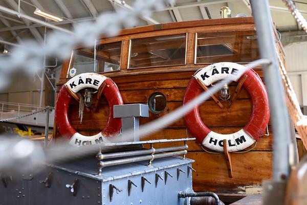 Båtutställning Flyghangaren