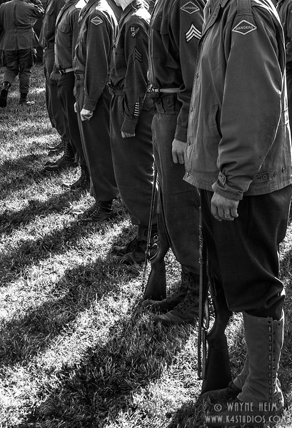 In Line   Photography by Wayne Heim