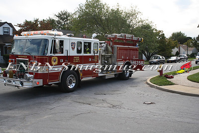 Massapequa F.D. Basement Fire- 9 Ford Rd North - 9-16-11