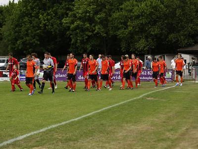 Winchester City (2) v AFC Portchester (0) 10.8.2013