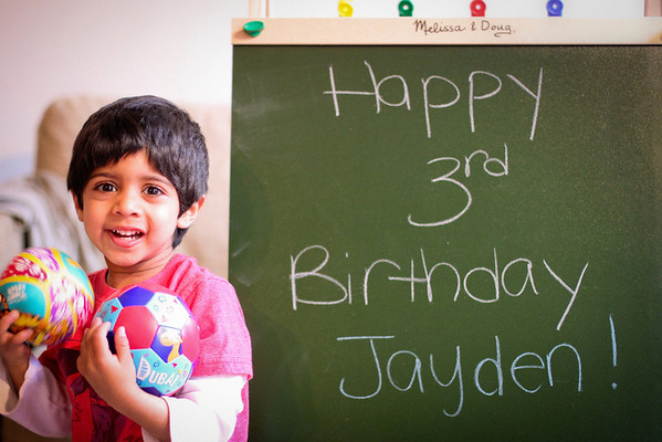 Jayden 3rd Birthday