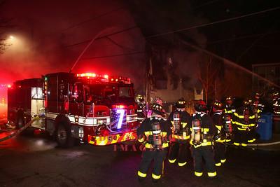 Somerville, MA - 3rd Alarm, 11 Appleton Street, 1-27-17
