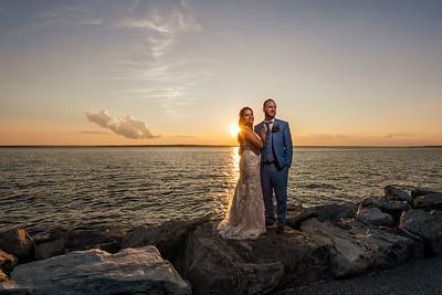 Rhode Island Colt State Park Summer Afternoon Wedding