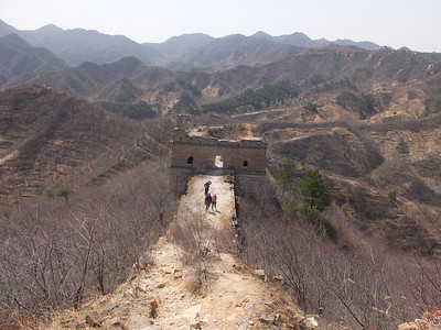 spring mountain great wall hiking