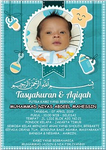 190407 | Tasyakuran & Aqiqah M.Niyas Abdeel Mahessin