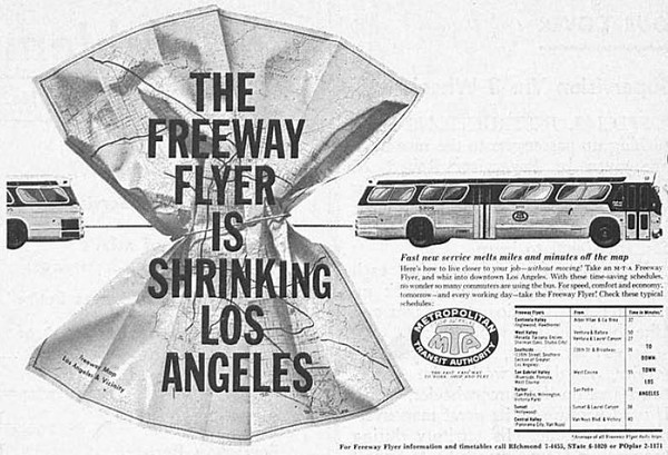 People who have been riding JTA since the 1970's should immediately recognize the slogan, 'Freeway Flyer.' The idea largely failed and the 'Flyers' vanished from the freeways at both ends of I-10.