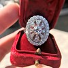 2.23ctw Old European Cut Diamond Filigree Ring 19