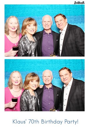 klaus keller's 70th birthday bash