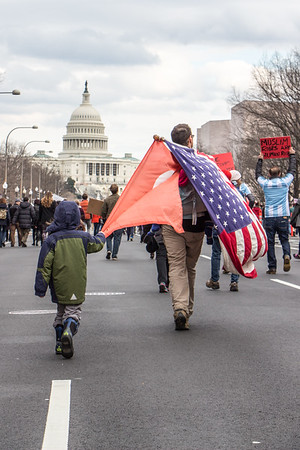 Immigration Protest January 2017