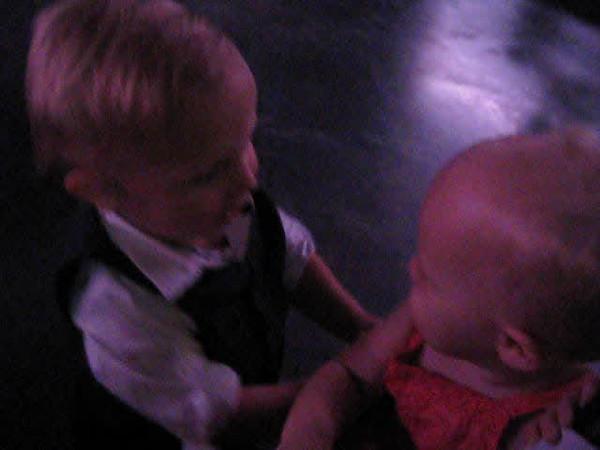 William huging Riley.AVI