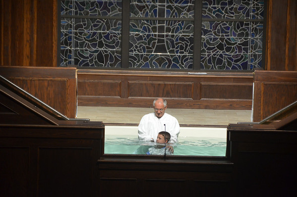 Baptism and Deacon ordination