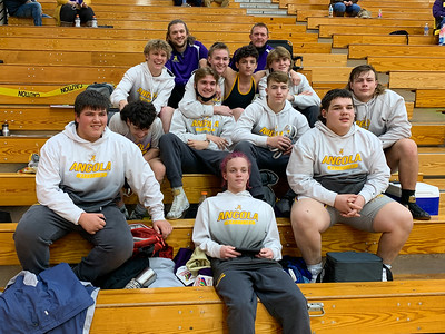 AHS Wrestling 2021 Sectionals-Finals