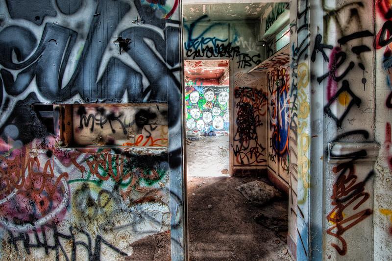 Inside the Old Fleishhacker Poolhouse