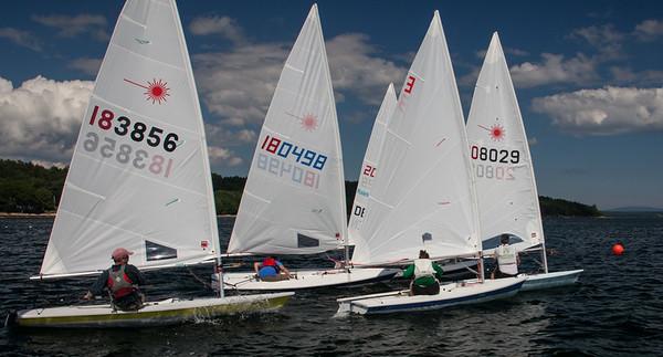 July 2 Laser sailing