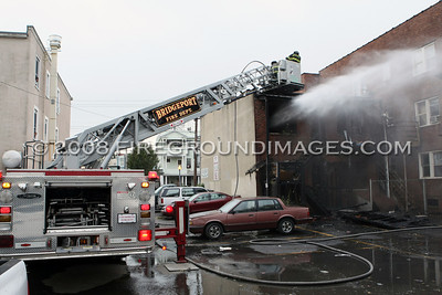 Madison Ave. Fire (Bridgeport, CT) 10/14/08